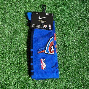Nike Basketball Elite Oklahoma City Thunder Socks